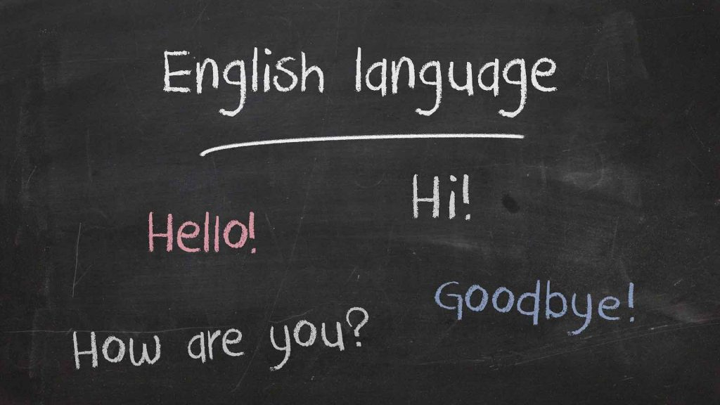 papan belajar bahasa inggris pemula